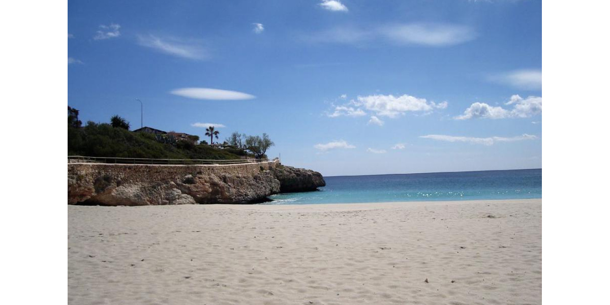 The Beach of Calas de Mallorca.