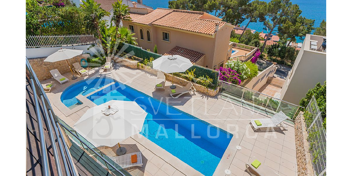 Rental Villa Delfin with pool, spa, indoor heated pool, jacuzzi and gym, Ping Pong..